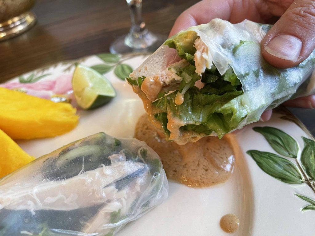 Salad Rolls, fresh spring rolls