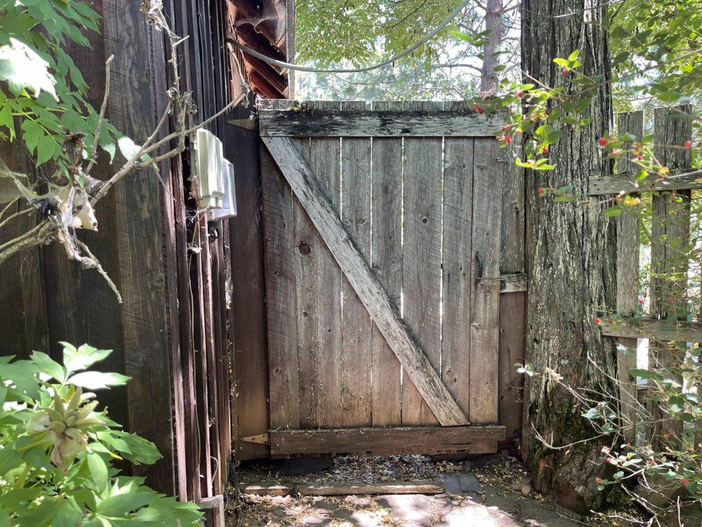 Gate at Chocolate Box Cottage