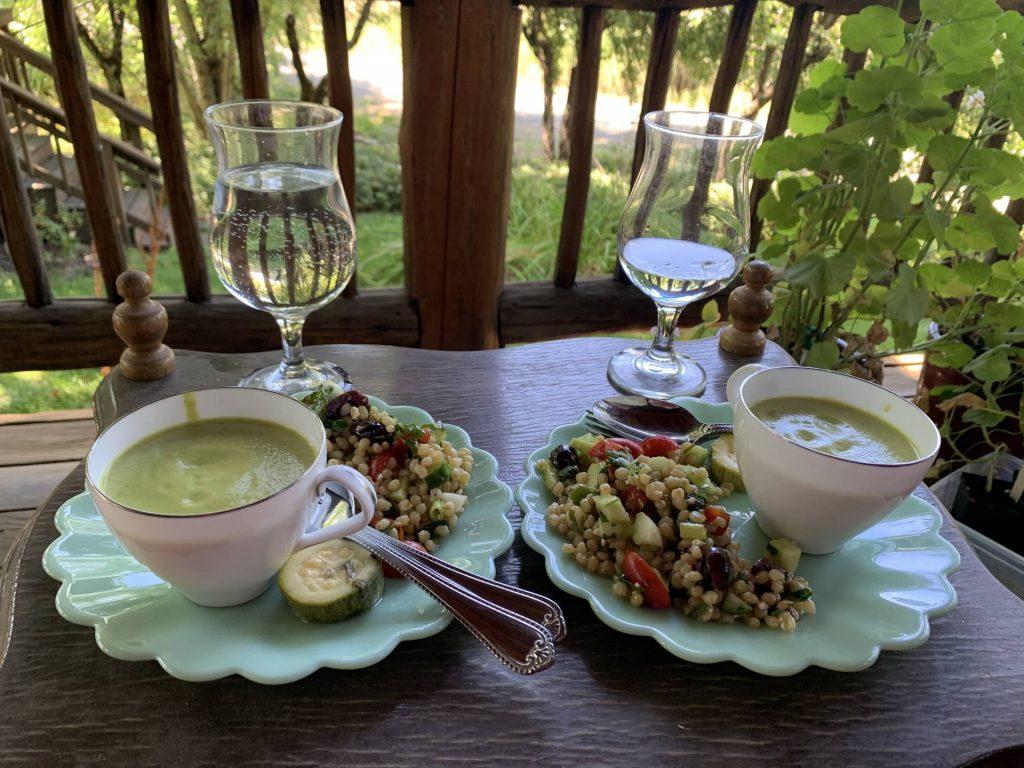 Zucchini Velvet Soup