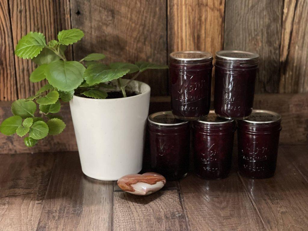 Huckleberry Lime Jam